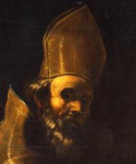 Sant'Agostino - Mattia Preti- Volto