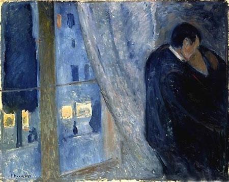Edvard Munch - Il Bacio