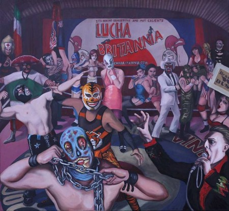 Lucha Britannia Mexico Siniestro by Ella Guru