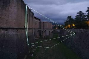 Carlo Bernardini - La materia è il vuoto - 2011 - Forte Spagnolo, L'Aquila
