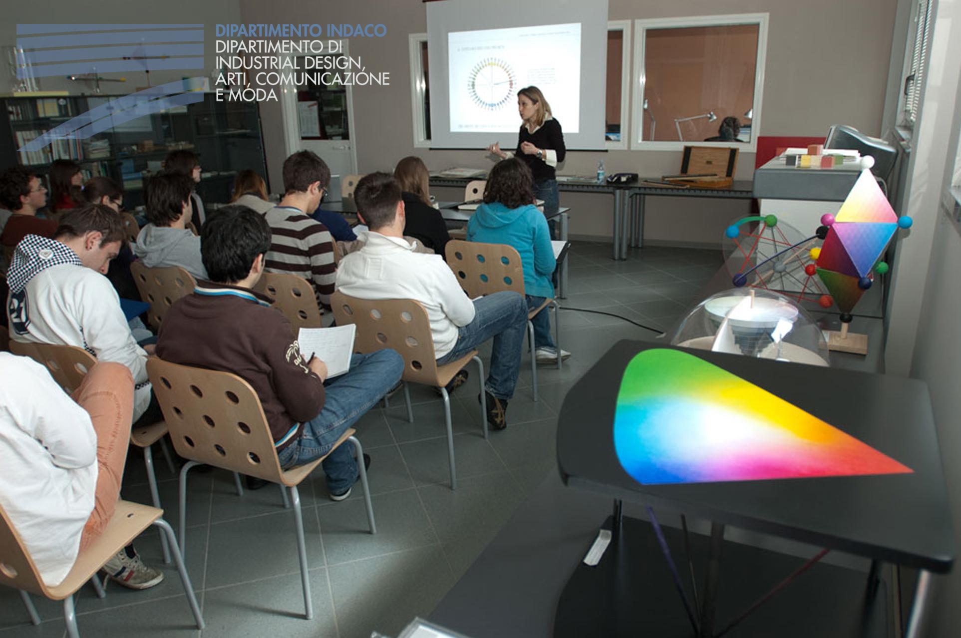 Un corso per imparare a usare il colore for Politecnico milano iscrizione