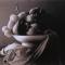 Natura non-morta, 2002 Olio e pastello su stampa digitale