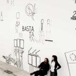 Teresa Macrì con Dan Perjovschi, The crisis is (not) over, 2011 - foto altrospazio Roma (10)