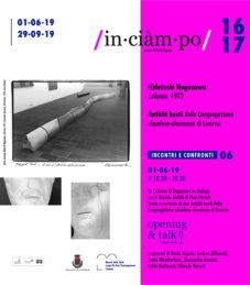 INCIAMPO 16 e 17 progetto in progress a cura di Paola Tognon